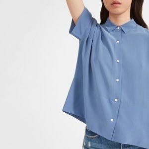Brand New Everlane Clean Silk Square Shirt